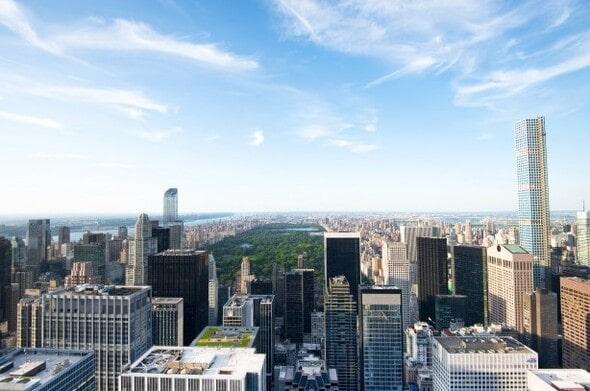 Manhattan vista de cima
